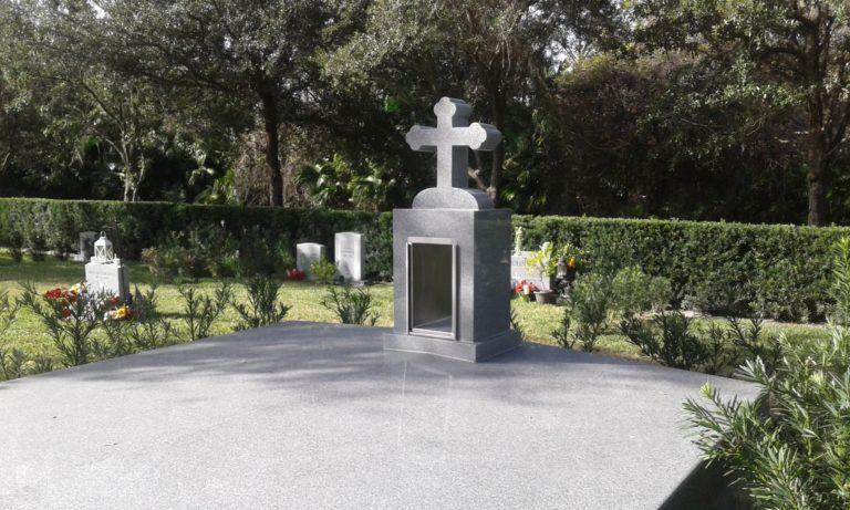 Greek orthodox candlehouse, Curlew Hills Memory Gardens