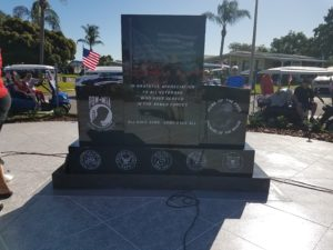 Veterans memorial installed in Ellenton, FL