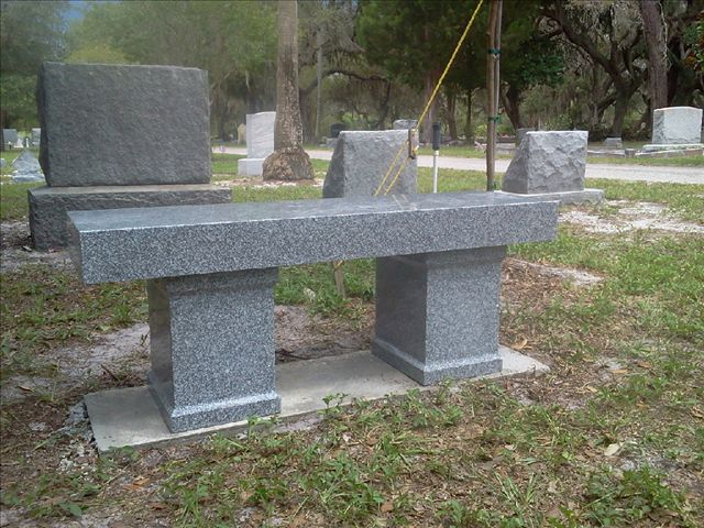 Memorial And Cremation Benches