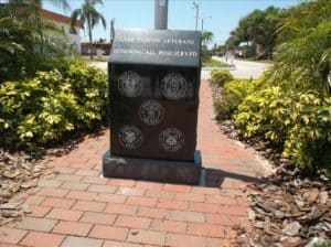 lake tarpon mobil home park veterans memorial